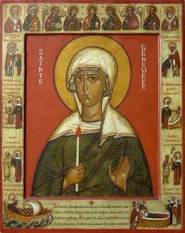 Pèlerinage au tombeau de sainte Geneviève