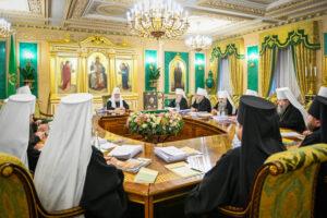 Lettre de soutien patriarcal et synodal de l'Église orthodoxe russe au patriarche de Serbie Irénée et au Conseil épiscopal du Monténégro