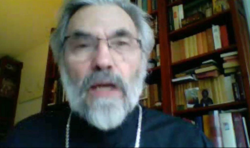 Vœux du père Nicolas Cernokrak, doyen de l'Institut Saint-Serge