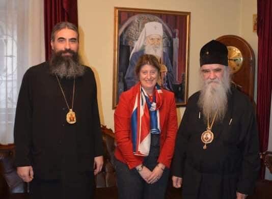Le métropolite du Monténégro Amphiloque a reçu l'ambassadrice du Royaume-Uni