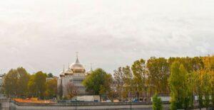 Le nouveau site de la cathédrale de la Sainte-Trinité à Paris