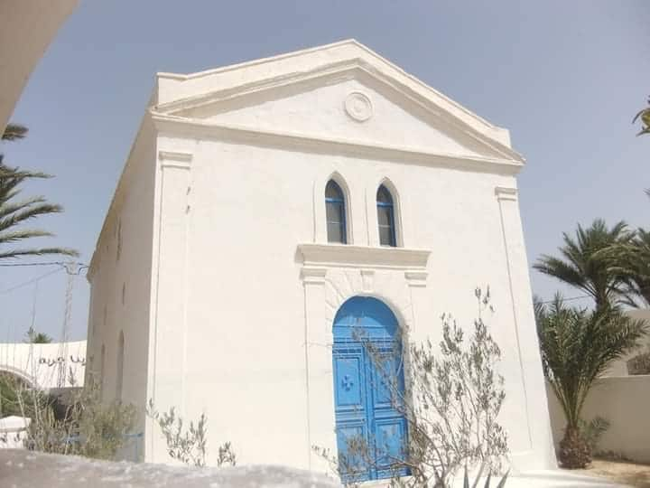 «Djerba: en neuf photos, l'église grecque orthodoxe Saint-Nicolas»