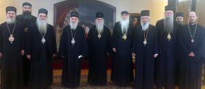 Communiqué du Saint-Synode de l'Église orthodoxe serbe et des hiérarques ayant juridiction sur le Monténégro