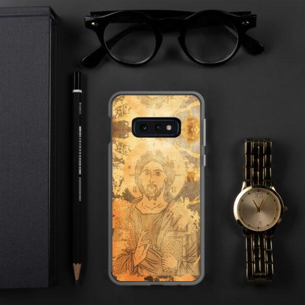 Coque de Samsung : Christ Sauveur et source de Vie