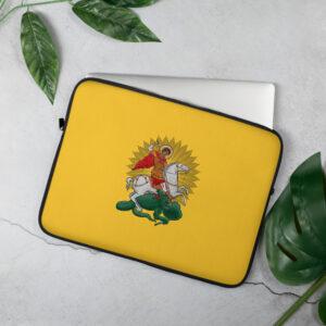 Privé: Housse pour ordinateur portable : Saint Georges le Tropéophore icône