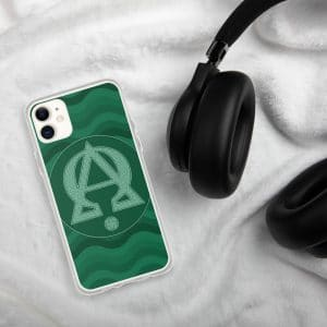 Coque d'iPhone : Alpha et Omega, version verte