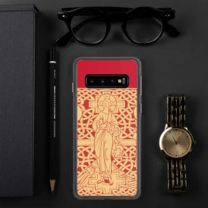 Coque de Samsung : La Transfiguration du Christ, version rouge