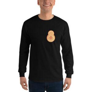 Privé: Chemise à manches longues pour homme : Prière de Jésus avec ange et cœur