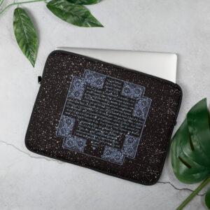 Privé: Housse pour ordinateur portable : Crédo Nicée-Constantinople en français (bleu)