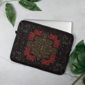 Privé: Housse pour ordinateur portable : Crédo Nicée-Constantinople en grec (or et rouge)