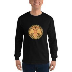 Privé: Chemise à manches longues pour homme : aigle à deux têtes, style russe byzantin
