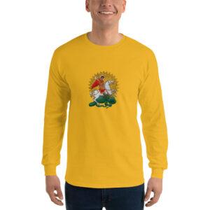 Privé: Chemise à manches longues pour homme : Saint Georges le Tropéophore