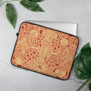 Privé: Housse pour ordinateur portable : La Transfiguration du Christ, version rouge