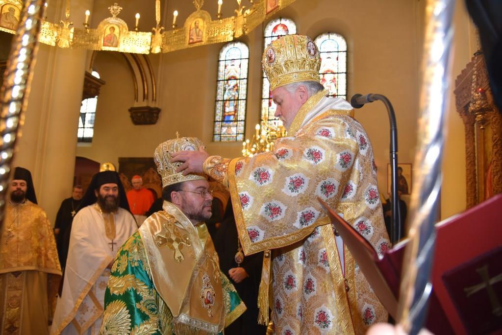 Ordination de l'évêque Joachim d'Apollonia, nouvel évêque auxiliaire de l'Archevêché de Belgique (Patriarcat oecuménique)