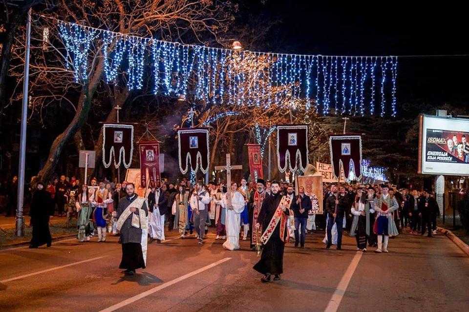 More than 10,000 Montenegrin Faithful Gather to Prayerfully Protect Their Churches