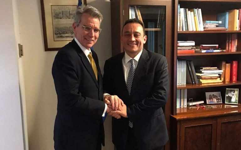 L'ambassadeur américain à Athènes a abordé la question de l'orthodoxie avec le vice-ministre grec des Affaires étrangères