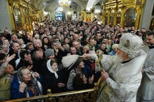 Liturgie de la Théophanie à Moscou (vidéo)