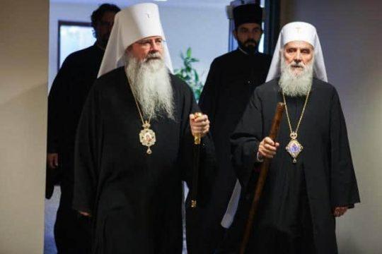 Metropolitan Tikhon (OCA) Sends Letter of Support to Patriarch Irinej