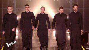 Cinq séminaristes orthodoxes russes ont chanté dans l'émission «The Voice 2020» sur TF1
