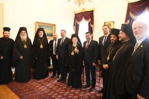 Communiqué du Patriarcat œcuménique au sujet de la visite au Phanar d'une délégation de la République de Macédoine du Nord