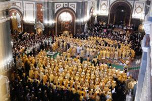 Onzième anniversaire de l'intronisation du patriarche de Moscou Cyrille