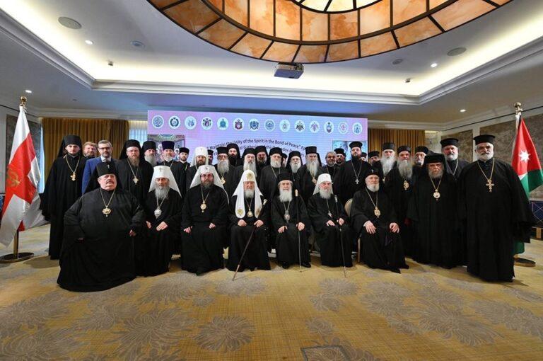 Foto oficial de la reunión fraterna en Ammán