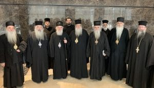 Le patriarche de Serbie Irénée est arrivé à Amman avec une délégation de l'Église orthodoxe serbe