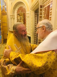 Visite du métropolite Jean de Doubna à Moscou