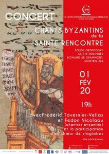 Un concert de chants byzantins à Montpellier