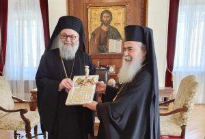 Le différend entre les patriarcats de Jérusalem et d'Antioche serait en voie de règlement et le patriarche d'Antioche participera à la rencontre d'Amman