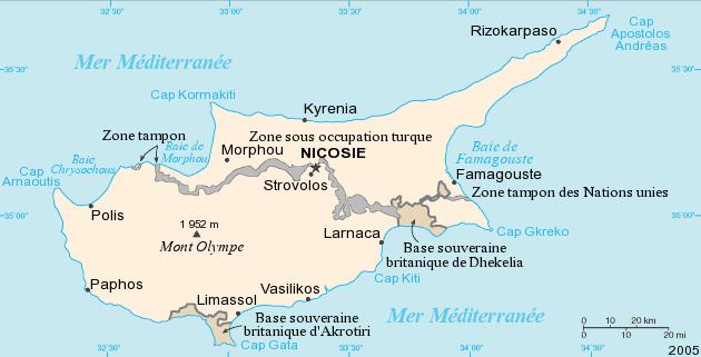 L'Union européenne enquête sur les accusations de destruction de mosaïques dans la partie de Chypre occupée par la Turquie