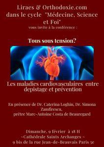 Dans le cycle «Médecine, science et foi», le 9 février à Paris : «Tous sous tensions ?»