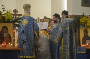 Ordination diaconale et rencontre avec le métropolite Emmanuel à Meudon