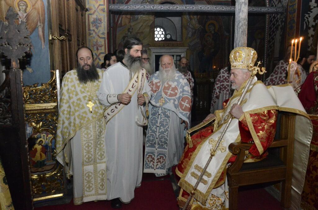 Mgr Emmanuel a ordonné un nouveau prêtre du monastère de Xénophon