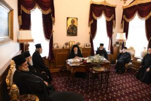 Le Patriarcat œcuménique reçoit une délégation du Patriarcat de Jérusalem et maintient son refus de participer à la réunion des primats orthodoxes à Amman