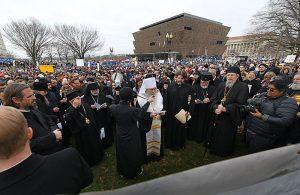 Des hiérarques, clercs et fidèles orthodoxes ont participé à la marche pour la vie à Washington