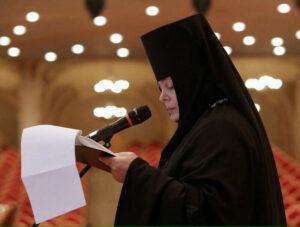 L'higoumène Séraphima : « Aucun monastère de l'Église orthodoxe d'Ukraine (du métropolite Onuphre) n'a rejoint la nouvelle Église autocéphale »