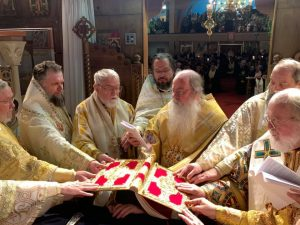 Oca consecrates New Bishop as Vicar for Romanian Episcopate