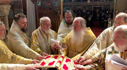 Oca consecrates New Bishop as Vicar for Romanian Episcopate