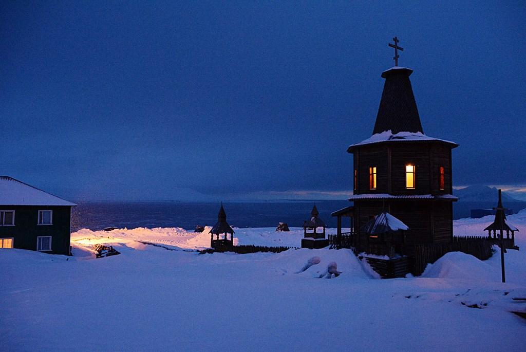 «Où se trouve l'église russe la plus septentrionale du monde ?»