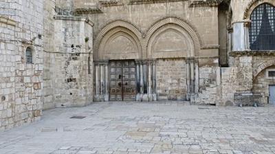 Jérusalem: malgré la fermeture de l'Anastasis, les liturgies continueront à être célébrées