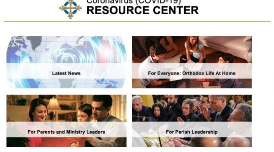Assembly of Bishops USA Announces COVID-19 Resource Center for Orthodox Christians