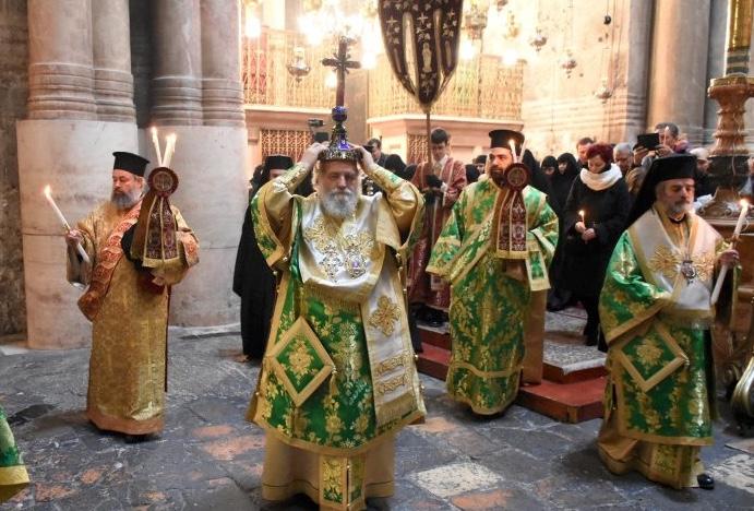 Liturgie du dimanche de la Croix à Jérusalem