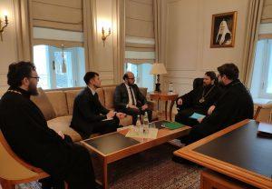 Le président du DREE a reçu le conseiller aux affaires religieuses de l'ambassade de Turquie