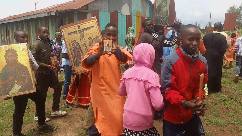 Comment des orphelins du Kenya ont célébré le Dimanche de l'orthodoxie