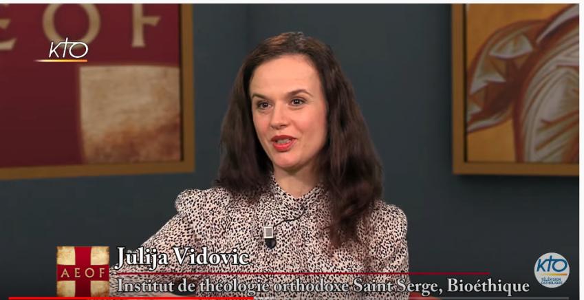 L'émission de télévision « L'orthodoxie, ici et maintenant » (KTO) du mois de mars : «La doctrine de la synergie entre la grâce divine et la liberté humaine» avec Julija Vidovic