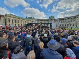 Grande procession et réunion de prière à Vienne en soutien aux fidèles orthodoxes du Monténégro