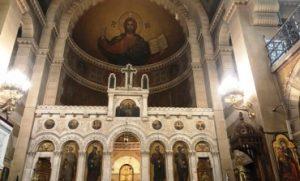 Communiqué de la métropole de France invitant à la fermeture des églises