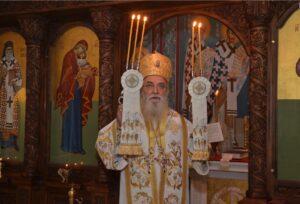Mgr Milutin, évêque de Valjevo (Serbie) est décédé des suites du coronavirus