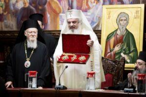 Message de félicitations du patriarche de Roumanie Daniel au patriarche œcuménique Bartholomée à l'occasion de son 80ème anniversaire